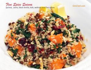 Five-spice-quinoa